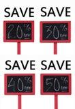 Na venda Svaings Fotografia de Stock