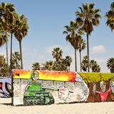 Na Wenecja plaży sztuk ściany, Los Angeles Fotografia Stock