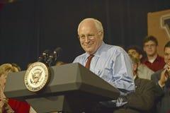 Na Wiceprezydenta kandydat Dick Cheney Zdjęcia Stock