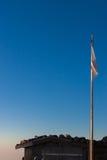 na wierzchołku mt Fuji z racą Obrazy Stock