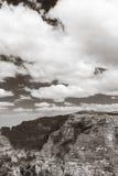 Na wierzchołku Simien Halny park narodowy w Eth Zdjęcia Royalty Free