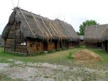 Na wolnym powietrzu muzeum, Bunge, Gotland, Sweeden Zdjęcia Royalty Free