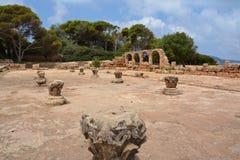 Na wolnym powietrzu, ruiny Zdjęcie Royalty Free