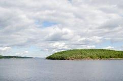 Na wyspach Biały morze Fotografia Royalty Free