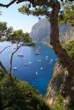na wyspie capri Obrazy Royalty Free