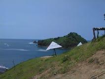 Na wyspie payangan obraz royalty free