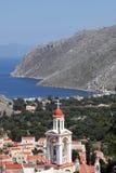 Na wyspie Symi, Grecja Zdjęcia Royalty Free