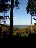 Na wzgórzu Zdjęcie Royalty Free