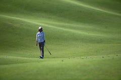 Na Yeon Choi in het Kampioenschap van Taiwan LPGA Stock Afbeelding