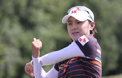 Na Yeong Choi Evian Masters 2010 Royalty Free Stock Photos
