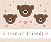 Na zawsze przyjaciele Fotografia Stock