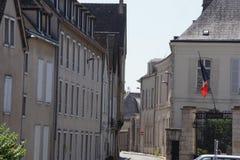 Na zewnątrz katedry Chartres, w Francja zdjęcia stock