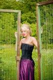 na zewnątrz piękne kobiety young Fotografia Stock