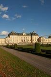 Na zewnątrz Sto Drottningholm slott (pałac królewski) Obraz Stock