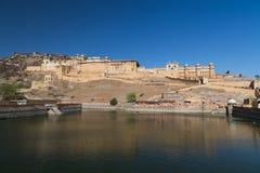 Na zewnątrz Złocistego fortu w Jaipur Obrazy Royalty Free