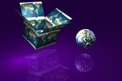 na zewnątrz box4 ilustracja wektor