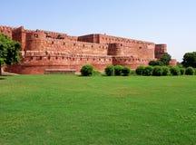 na zewnątrz czerwieni architektura fort Fotografia Royalty Free