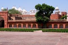 na zewnątrz czerwieni architektura fort Zdjęcie Royalty Free