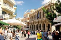 Na zewnątrz miasta Heraklion Grecja zdjęcie royalty free