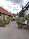 Na zewnątrz pubu w Gloucestershire Fotografia Stock