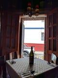 Na zewnątrz restauraci Zdjęcie Royalty Free