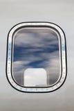 Na zewnątrz samolotowego okno Zdjęcie Royalty Free