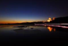 Na zonsondergang Royalty-vrije Stock Foto's