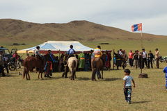 Naadam Festival Mongolia Royalty Free Stock Images