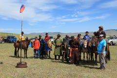 Naadam Festival Mongolia Royalty Free Stock Photography