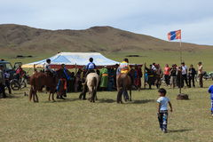 Naadam Festival Mongolia Royalty Free Stock Photography