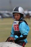 Naadam horse racing Stock Photos
