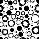 Naadloos abstract behang Stock Afbeelding