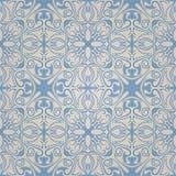 Naadloos abstract blauw patroon met gradiënt Royalty-vrije Stock Afbeelding