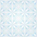 Naadloos abstract blauw patroon met gradiënt Stock Foto