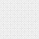 Naadloos abstract bloemen geometrisch vectorpatroon Stock Afbeeldingen