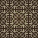 Naadloos abstract bloemenpatroon met gradiënt Royalty-vrije Stock Afbeeldingen