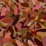 Naadloos abstract chaotisch elliptisch patroon als achtergrond - vectorontwerp van kleurrijke ellipsen stock illustratie
