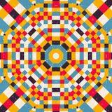 Naadloos abstract cirkelpatroon Royalty-vrije Stock Foto