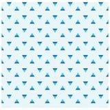 Naadloos abstract driehoekspatroon Modieuze naadloze achtergrond Stock Fotografie