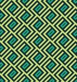 Naadloos abstract geometrisch lnespatroon - vectoreps8 Royalty-vrije Stock Foto's