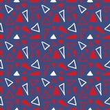 Naadloos abstract geometrisch patroon Stock Fotografie