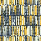 Naadloos abstract geometrisch patroon Royalty-vrije Stock Foto