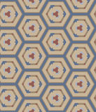 Naadloos abstract geometrisch patroon Royalty-vrije Stock Foto's
