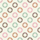 Naadloos abstract geometrisch patroon De textuur van ruit brushwork Hand het uitbroeden Gekrabbeltextuur Stock Fotografie