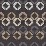 Naadloos abstract geometrisch patroon De textuur van ruit brushwork Hand het uitbroeden Gekrabbeltextuur Royalty-vrije Stock Foto