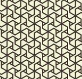Naadloos abstract geometrisch patroon met driehoekslijnen in zwart-wit - vectoreps8 Royalty-vrije Illustratie
