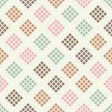 Naadloos abstract geometrisch patroon pixel De textuur van het mozaïek brushwork Hand het uitbroeden vector illustratie