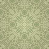 Naadloos abstract groen patroon met gradiënt Royalty-vrije Stock Afbeeldingen