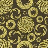 Naadloos abstract grungepatroon vector illustratie