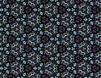 Naadloos abstract hand-drawn patroon Stock Afbeelding